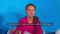 """""""Vous avez volé mes rêves et mon enfance !"""": le discours choc de Greta Thunberg à l'ouverture du sommet de l'ONU pour le climat"""