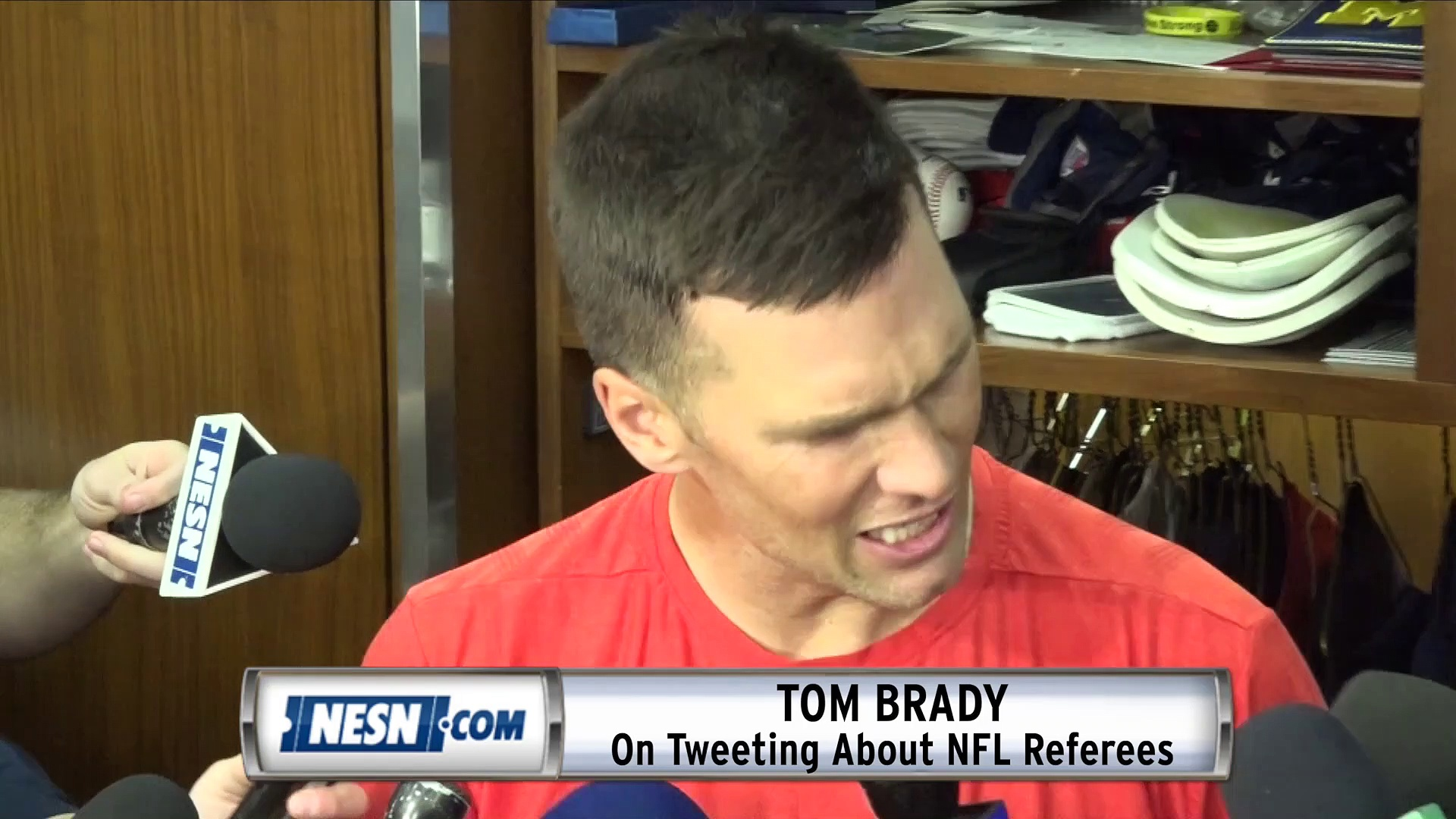 Tom Brady On His Twitter Rant Against NFL Referees