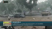 Tormenta tropical Karen provoca inundaciones en el caribe venezolano