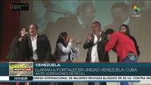Piden movimientos de amistad cesen agresiones contra Venezuela
