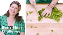 50 People Try to Mince Parsley