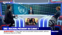 Sommet de l'ONU: Emmanuel Macron, président du climat ? (1/2) - 23/09
