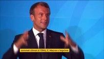 """Sommet pour le climat : """"Des actes, des actes, des actes"""", réclame Emmanuel Macron"""