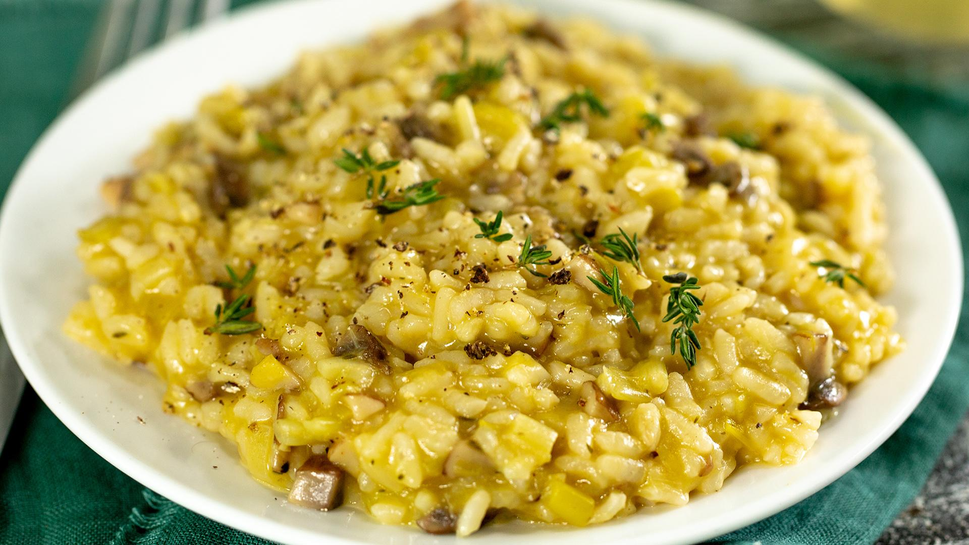 How to Make Instant Pot Vegan Mushroom Risotto
