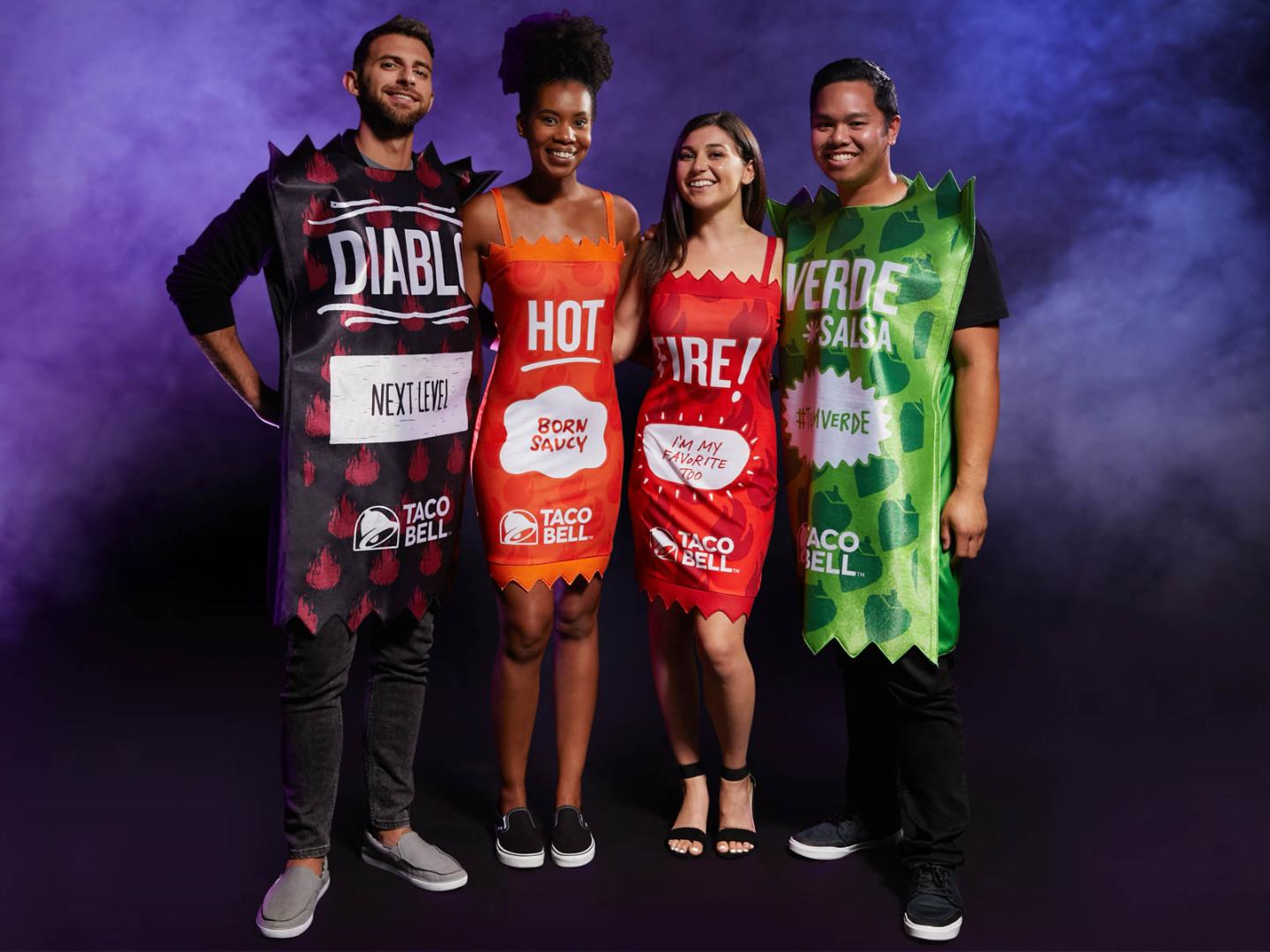 You Can Dress Up as a Taco Bell Hot Sauce Packet This Halloween