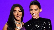 Kendall Jenner & Kim Kardashian Laughed At Emmys Over Their Speech Video