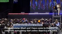 Trump Hails Indian Prime Minister Modi At Texas Rally