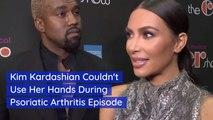 Kim Kardashian's Hand Problem