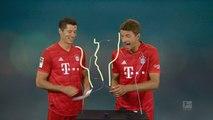 Bundesliga: Buzz Wire Challenge with Robert Lewandowski and Thomas Müller