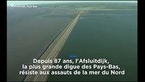 """Réchauffement climatique : les Pays-Bas renforcent leur """"défense maritime"""""""