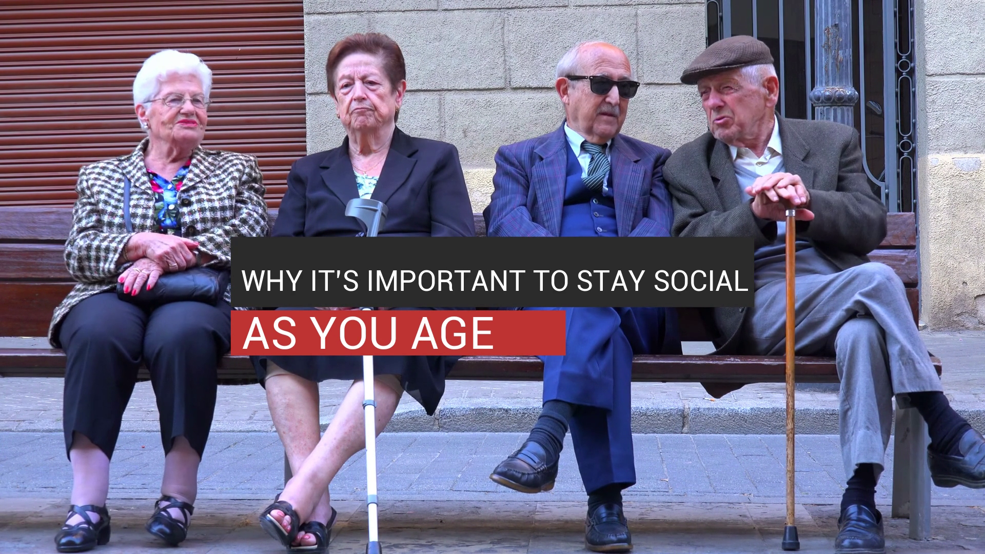Why It's Important To Stay Social As You Age