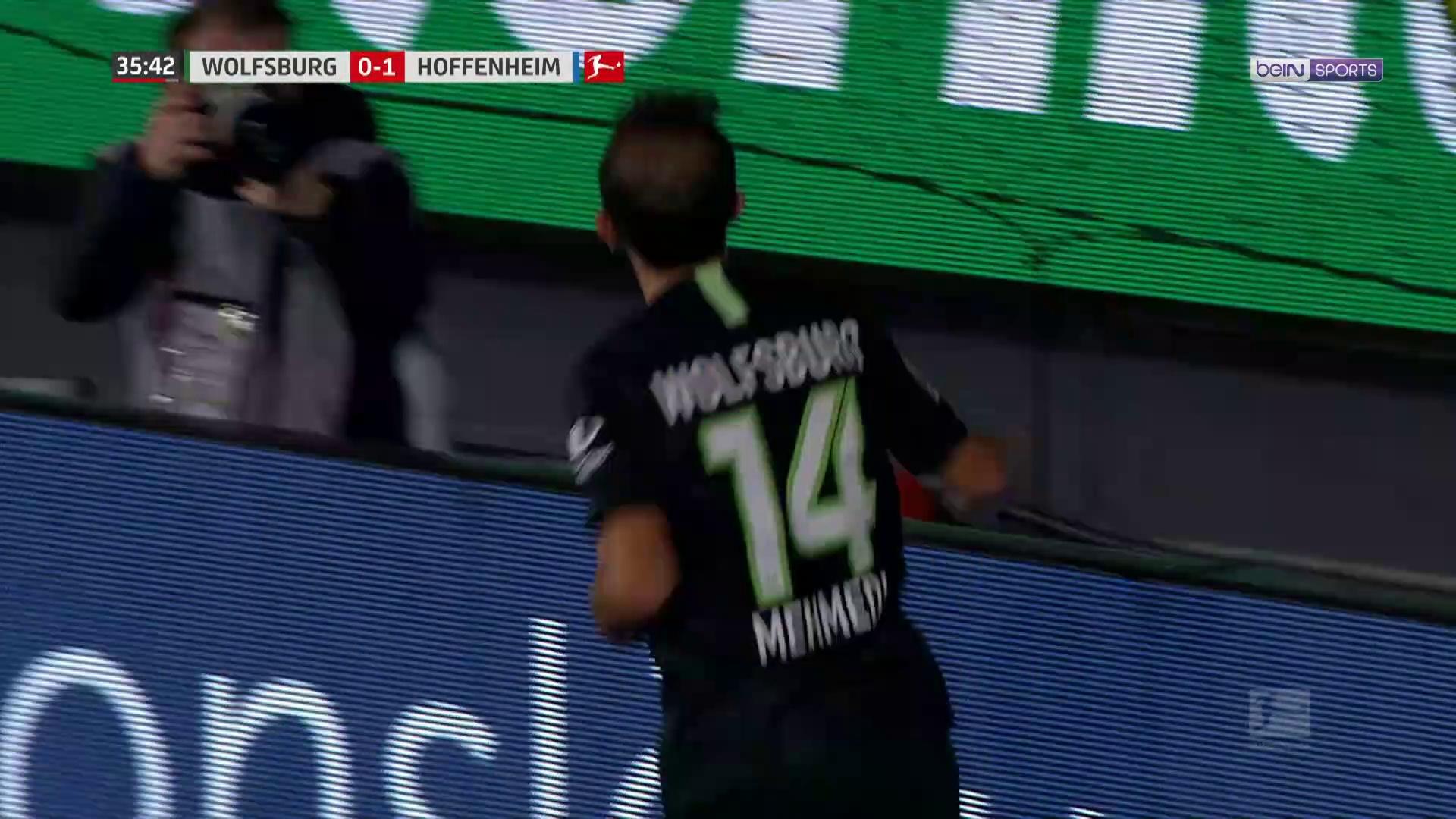 Bundesliga : Wolfsburg et Hoffenheim dos à dos (1-1)
