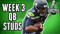 Fantasy Football 2019 - Top QB Performances of Week 3