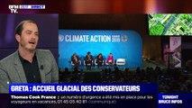 Greta Thunberg: Accueil glacial des conservateurs - 23/09