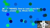 [MOST WISHED]  Dare to Lead: Brave Work. Tough Conversations. Whole Hearts.