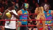King Corbin vs Chad Gable - WWE Raw Highlights 23rd September 2019 HD - WWE Raw
