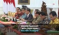 Jokowi Tanggapi Beda Sikap Soal RUU KPK vs RKUHP