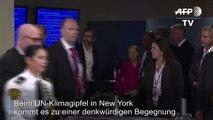 Thunberg und Trump und der zornige Blick