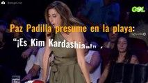 """Paz Padilla presume en la playa: """"¡Es Kim Kardashian!"""" (ojo a la última foto)"""
