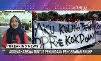Demo Mahasiswa di Malang: Tolak Reforma Agraria, RUU Pertanahan, dan UU Liberasi Tanah