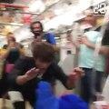 Coupe du monde de rugby 2019 : Un paquito dans le métro japonais crée la polémique