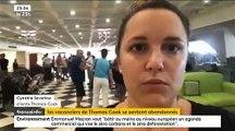 """Colère des clients du voyagiste britannique Thomas Cook qui se sentent abandonnés: """"Personne ne nous a donnés d'information"""" - VIDEO"""