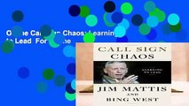 Online Call Sign Chaos: Learning to Lead  For Online