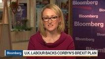 U.K. Labour Backs Corbyn's Brexit Plan