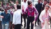 Taapsee Pannu & Bhumi Pednekar dance together at trailer launch of Saand Ki Aankh | FilmiBeat