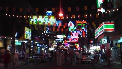 Thailande-Pattaya, Street atmosphere