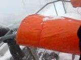 (train des neiges) a orciere dans la neige 2