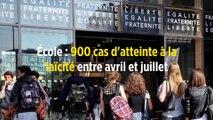 École : 900 cas d'atteinte à la laïcité entre avril et juillet