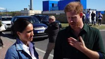 Prince Harry talks about his love of Cape Town during visit