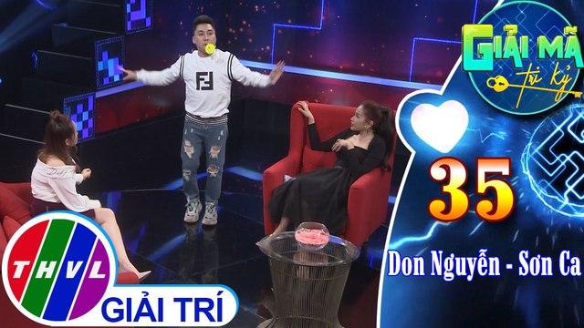 THVL | Dù trả lời đúng hết ở phần Thách thức tri kỷ, Don Nguyễn – Sơn Ca vẫn bị phạt vì chơi ăn gian | Giải mã tri kỷ - Tập 35