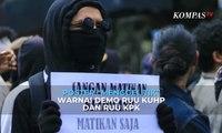 """Viral! Poster """"Menggelitik"""" Warnai Demo RUU KUHP dan RUU KPK"""