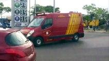 Irmãos ficam feridos em acidente na Avenida Tancredo Neves