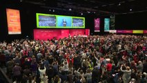 Corbyn announces Supreme Court ruling to Labour conference