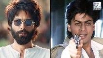 Shahid Kapoor COMPARES Kabir Singh To Shahrukh Khan's Baazigar