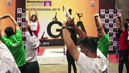 WWI Celebrated International Yoga Day With Jackie Shroff, Subhash Ghai & Palak Muchhal