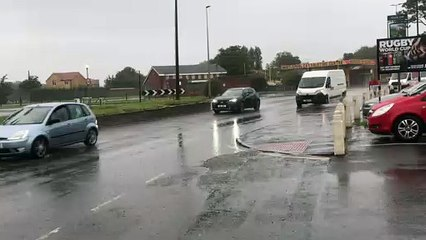 Yellow weather warning in Hartlepool