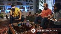 La société américaine Tilt Live innove dans le domaine des réalités virtuelles avec ses lunettes dotées de plateau de jeu.