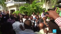 Haitian senator opens fire at protesters injuring photographer