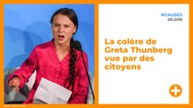 La colère de Greta Thunberg vue par des citoyens
