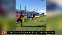 Cavani revient au PSG - Les Montpellierains sont bien à Marseille