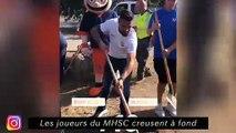 Les joueurs de MHSC creusent à fond - Abdoulaye se fait des amis à Nantes
