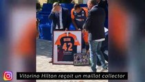 Vitorino Hilton reçoit un maillo collector - Ribery est au calme en Italie