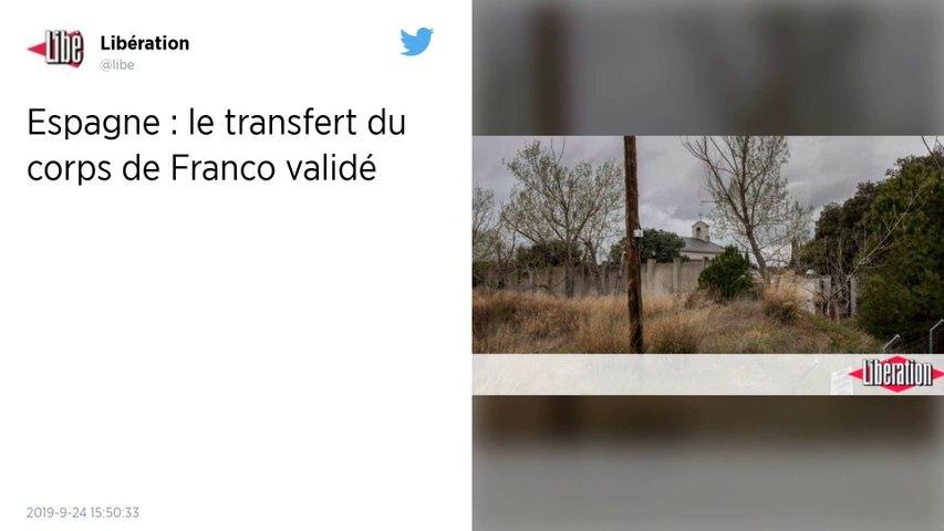 La justice espagnole autorise l'exhumation des restes du général Franco, suspendue en juin