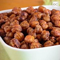Grão-de-bico crocante   Receitas Guia da Cozinha
