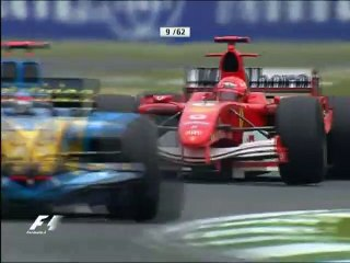 F1 Classic Battles - 2005 Imola - Alonso vs Schumacher