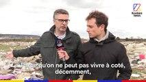 Une mer de déchets à 25 km de Paris.